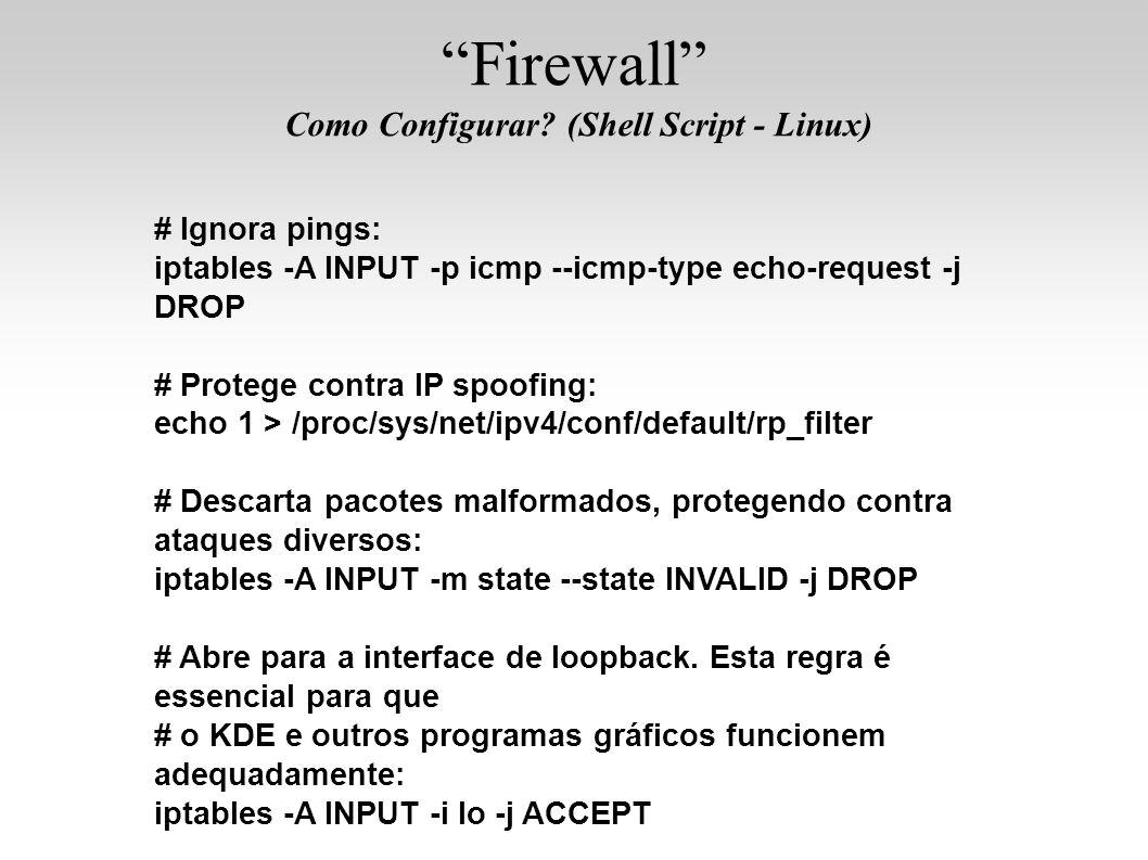 Como Configurar (Shell Script - Linux)