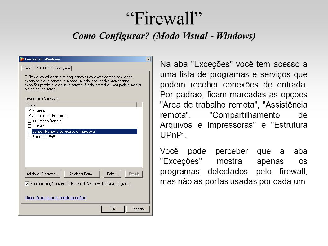Como Configurar (Modo Visual - Windows)‏