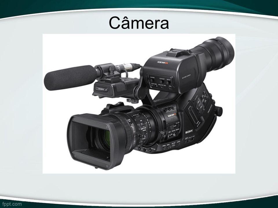 Câmera -Similar à uma câmera filmadora