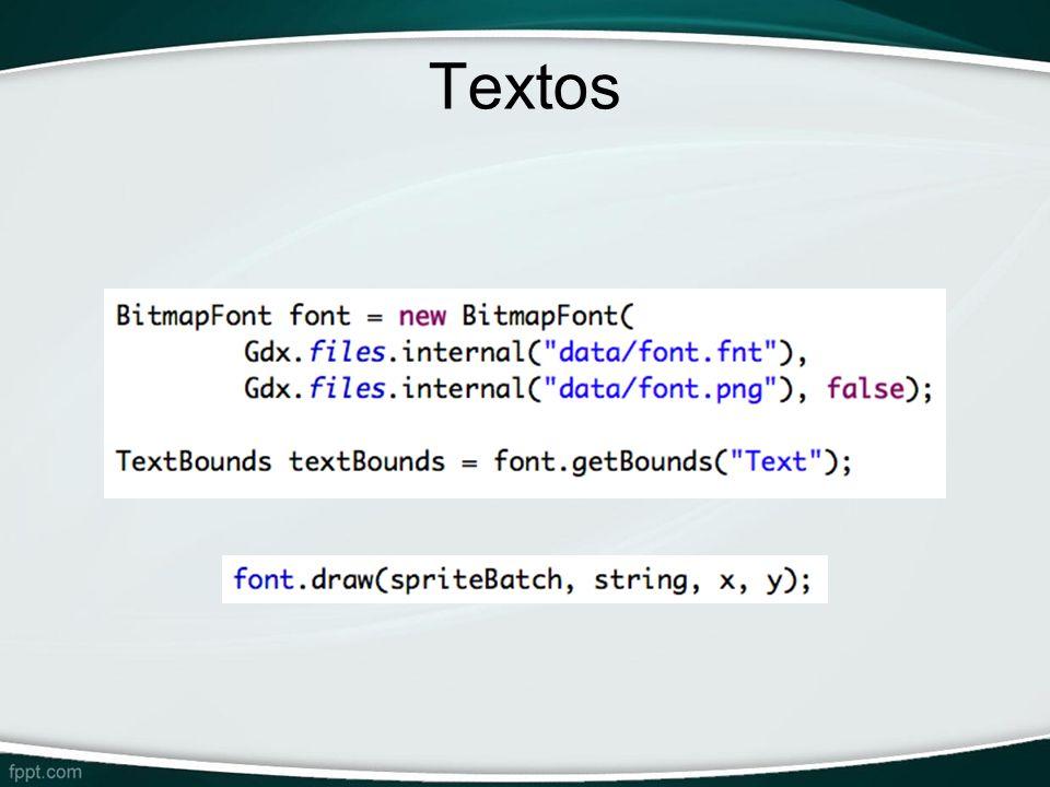 Textos _BitmapFont: lê informações de fonte dos arquivos .fnt e .png