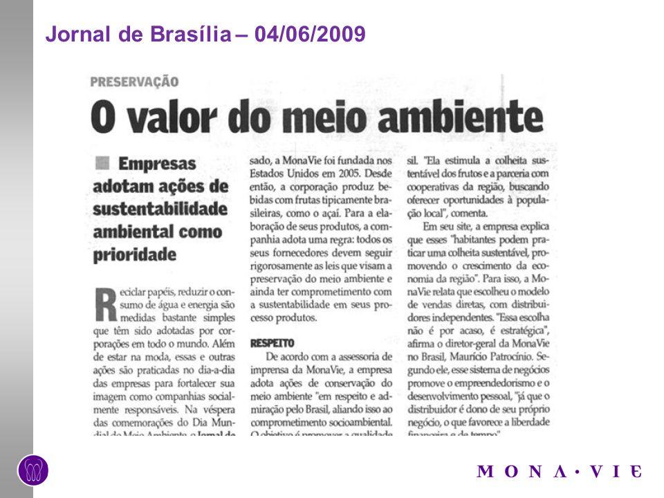 Jornal de Brasília – 04/06/2009