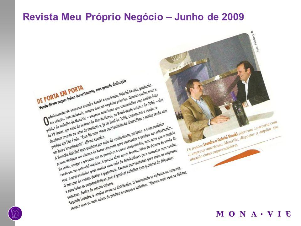 Revista Meu Próprio Negócio – Junho de 2009