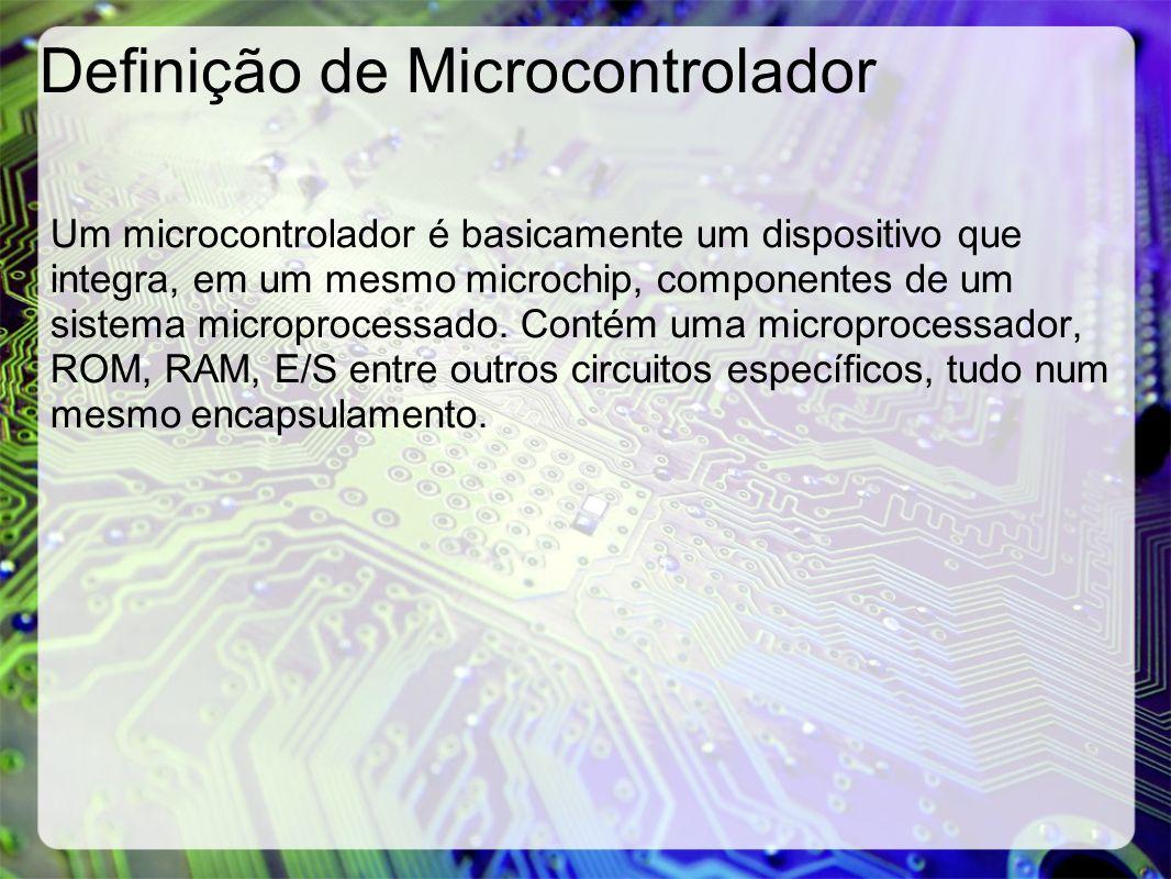 Definição de Microcontrolador