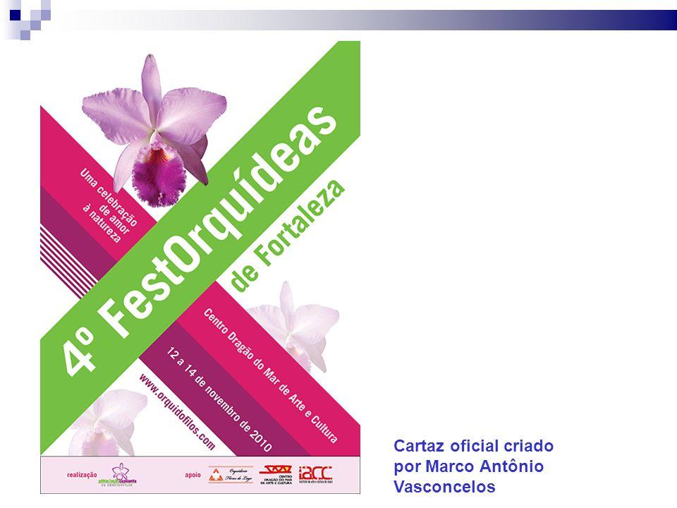 Cartaz oficial criado por Marco Antônio Vasconcelos