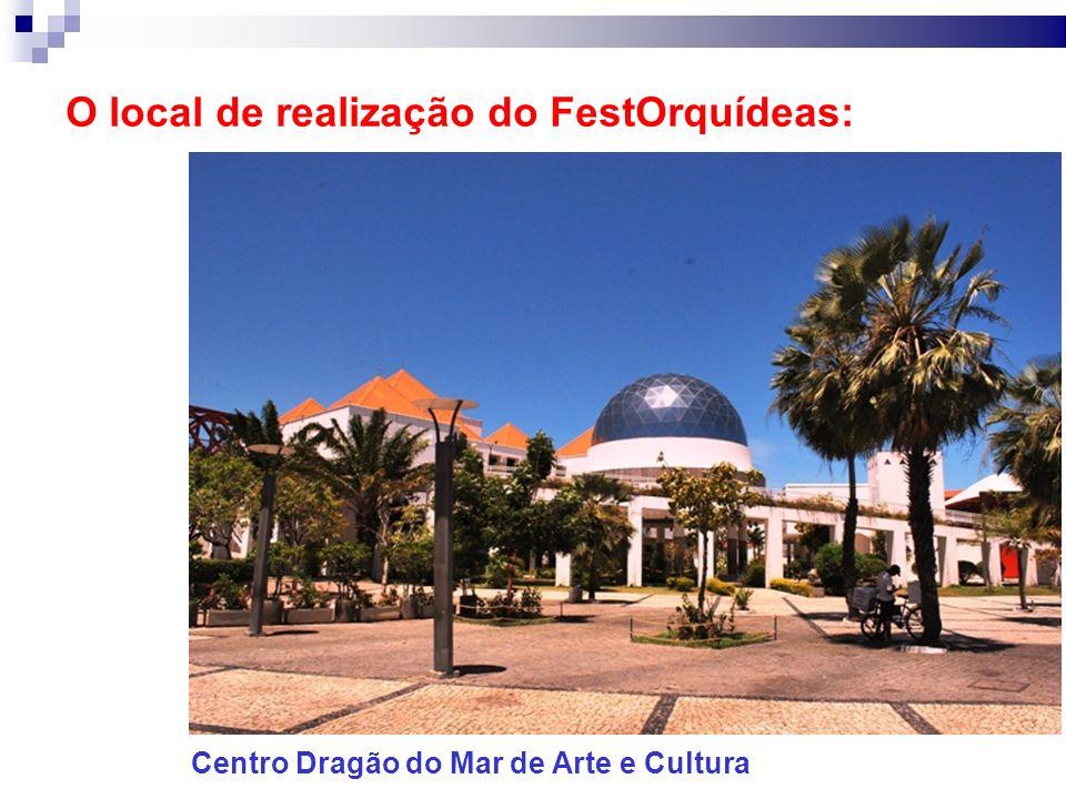 O local de realização do FestOrquídeas: