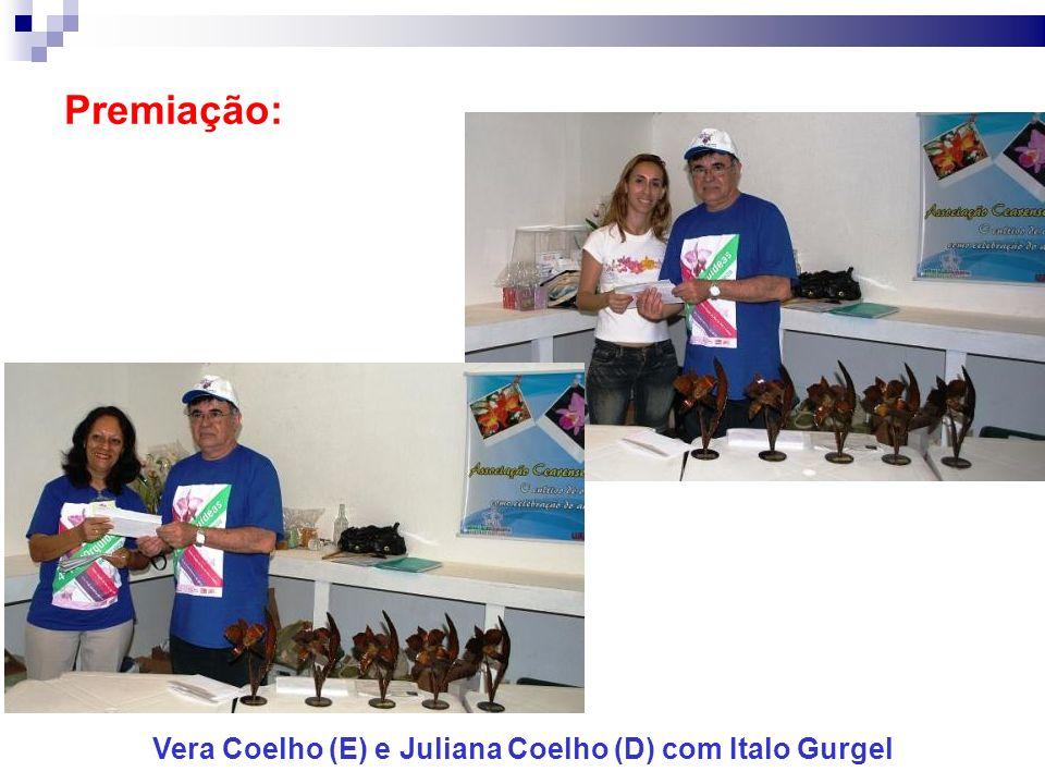 Vera Coelho (E) e Juliana Coelho (D) com Italo Gurgel