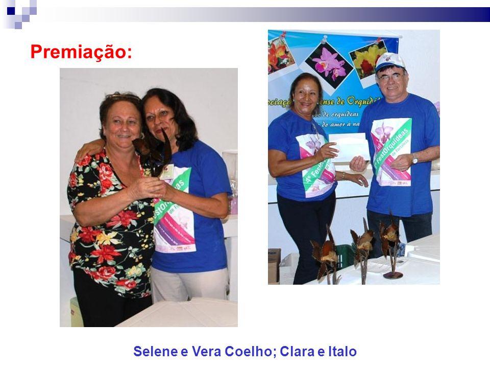 Selene e Vera Coelho; Clara e Italo