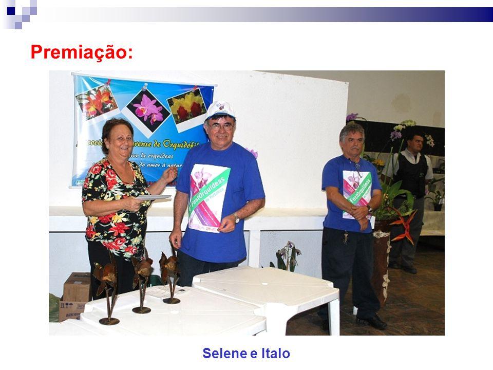 Premiação: Selene e Italo