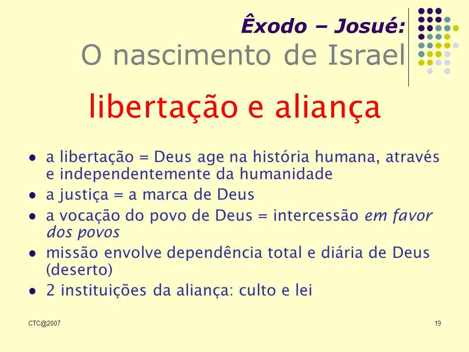 Êxodo – Josué: O nascimento de Israel