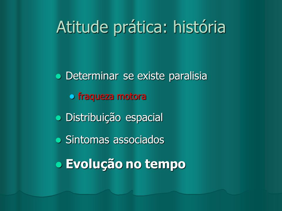 Atitude prática: história