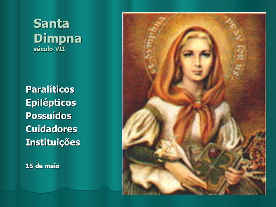 Santa Dimpna século VII