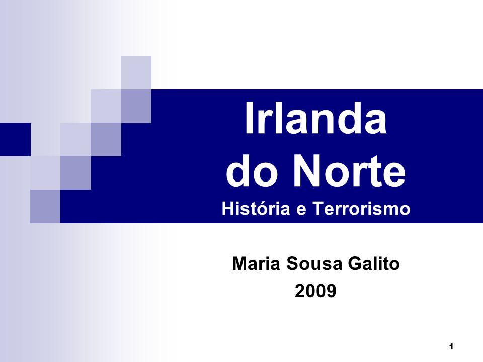 Irlanda do Norte História e Terrorismo