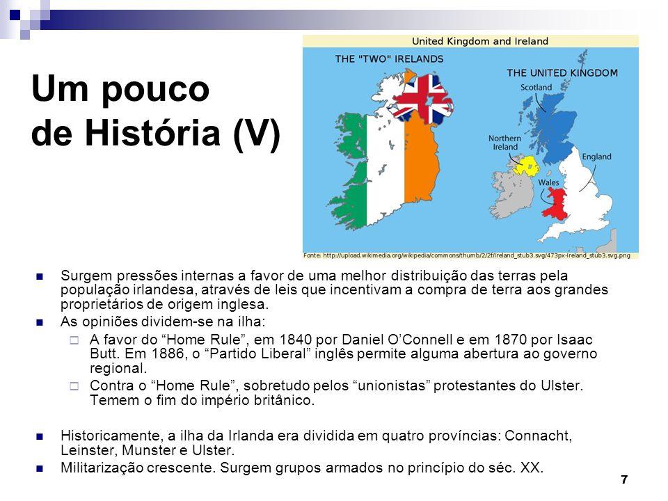 Um pouco de História (V)