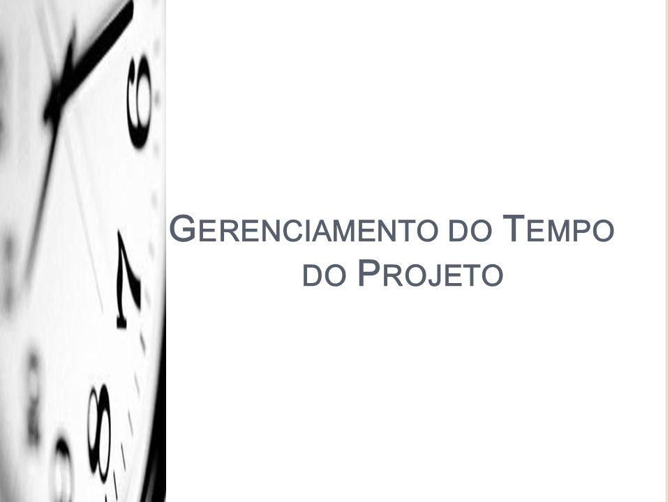 Gerenciamento do Tempo do Projeto