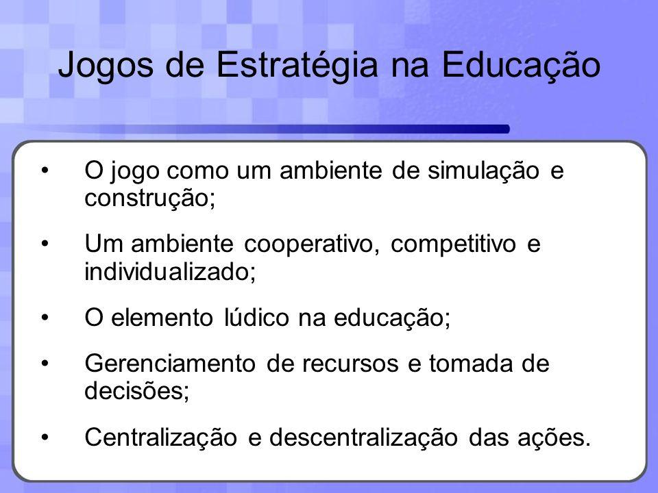 Jogos de Estratégia na Educação