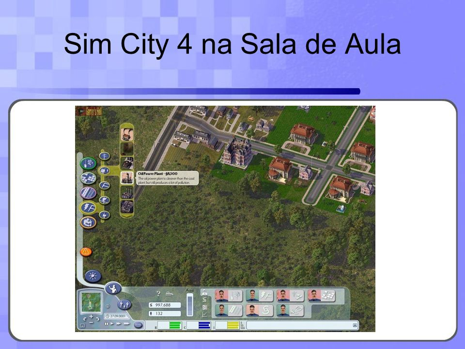 Sim City 4 na Sala de Aula