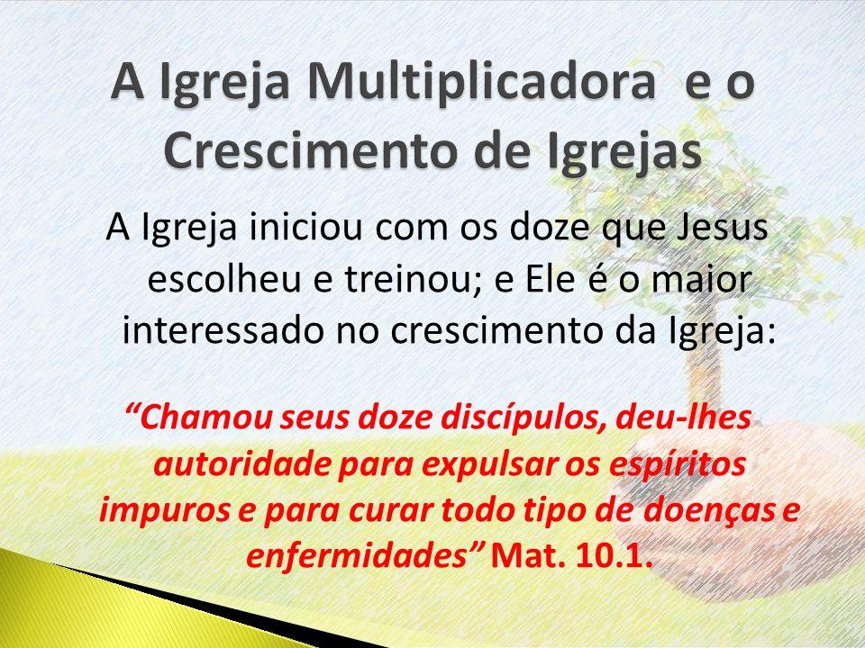A Igreja Multiplicadora e o Crescimento de Igrejas