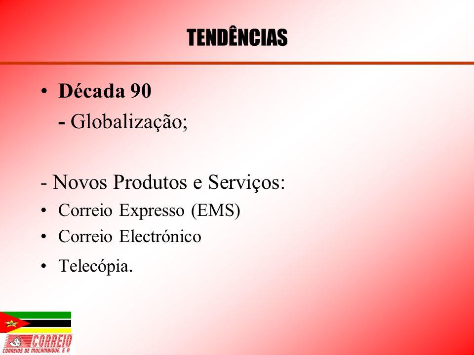 - Novos Produtos e Serviços: