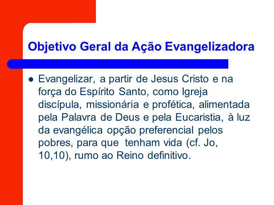 Objetivo Geral da Ação Evangelizadora