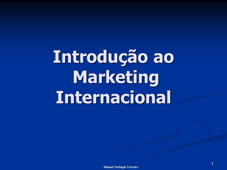 Introdução ao Marketing Internacional