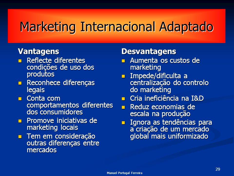 Marketing Internacional Adaptado