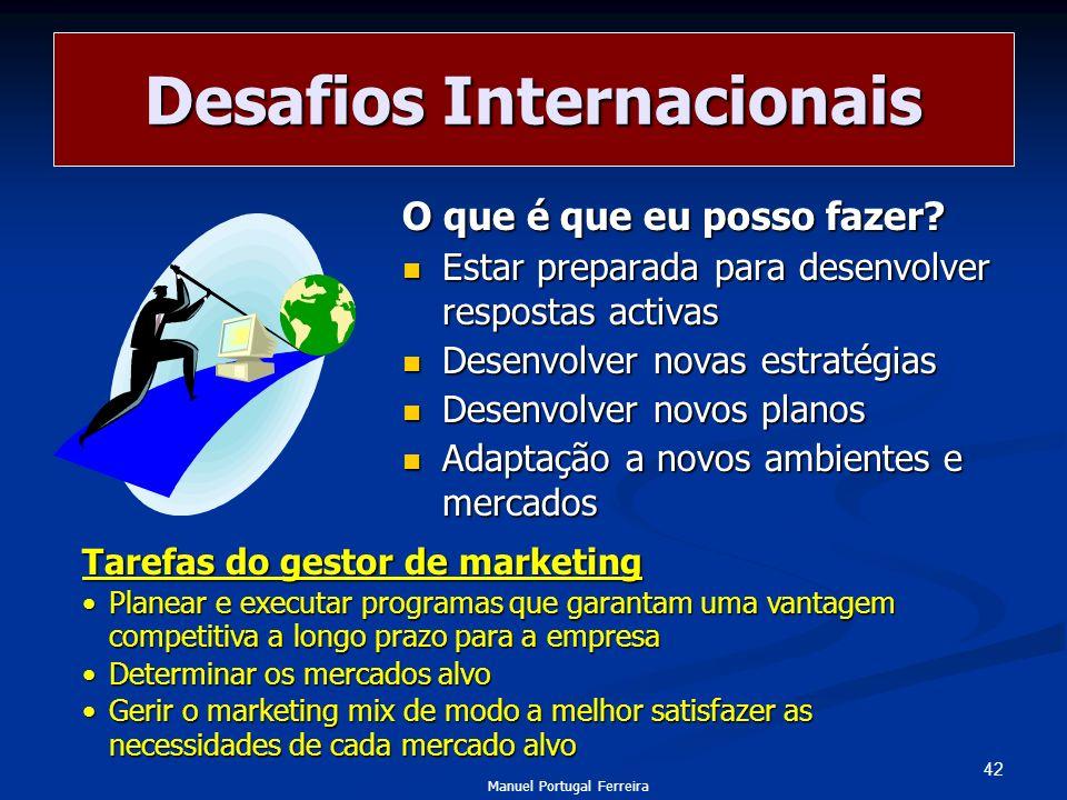 Desafios Internacionais