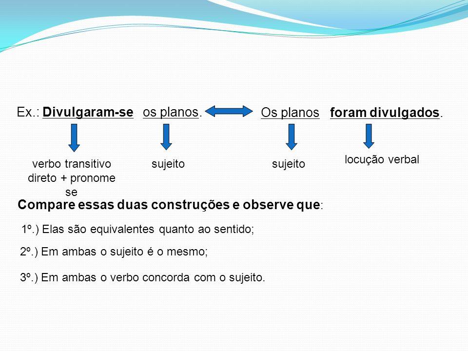 verbo transitivo direto + pronome se