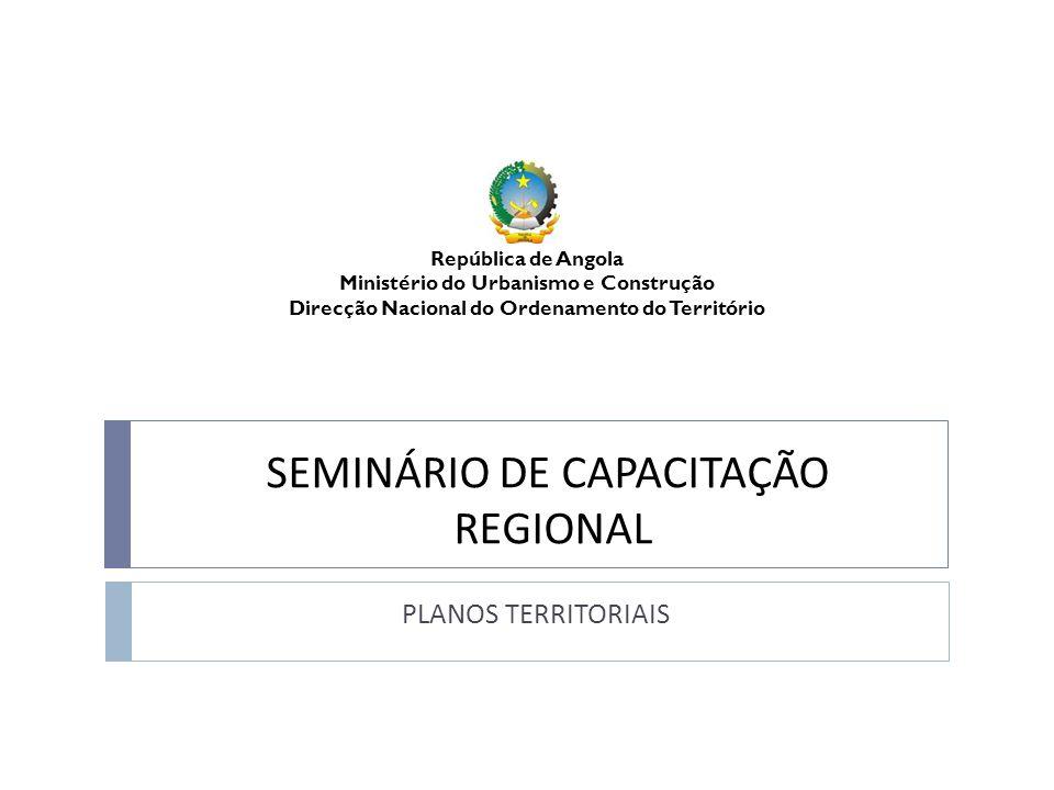 SEMINÁRIO DE CAPACITAÇÃO REGIONAL