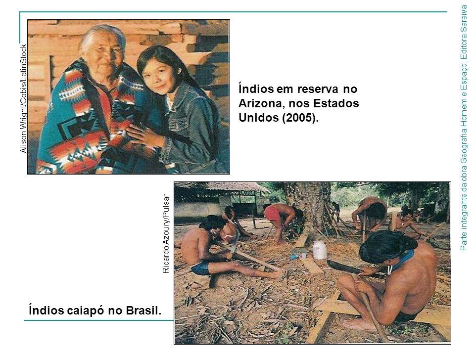 Índios em reserva no Arizona, nos Estados Unidos (2005).