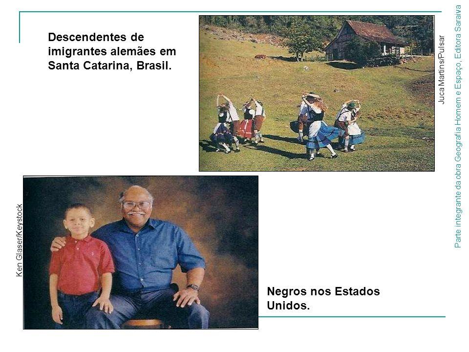 Descendentes de imigrantes alemães em Santa Catarina, Brasil.