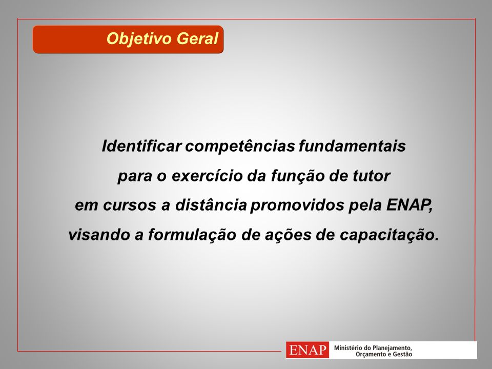 Identificar competências fundamentais