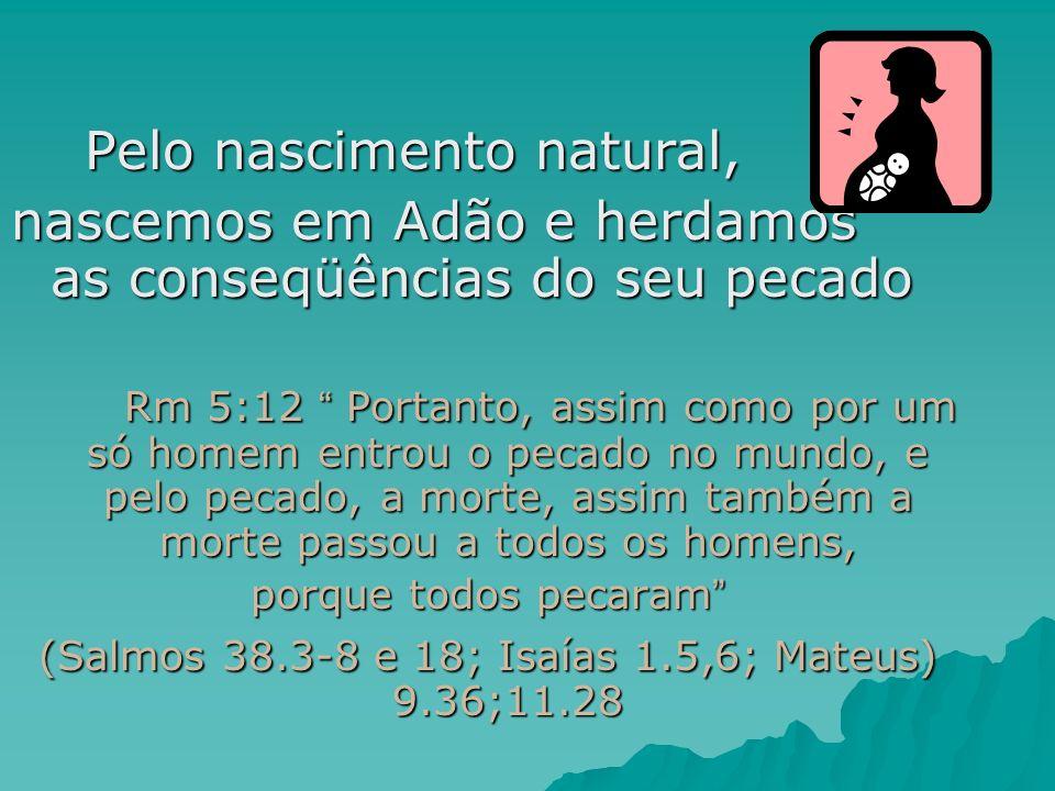(Salmos 38.3-8 e 18; Isaías 1.5,6; Mateus) 9.36;11.28