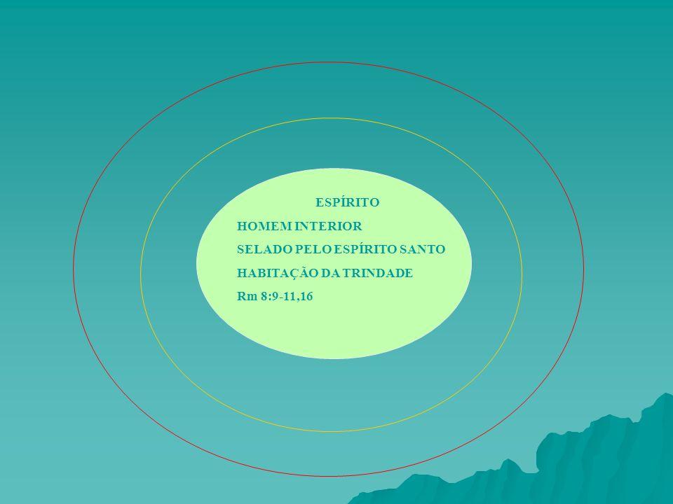 ESPÍRITO HOMEM INTERIOR SELADO PELO ESPÍRITO SANTO HABITAÇÃO DA TRINDADE Rm 8:9-11,16