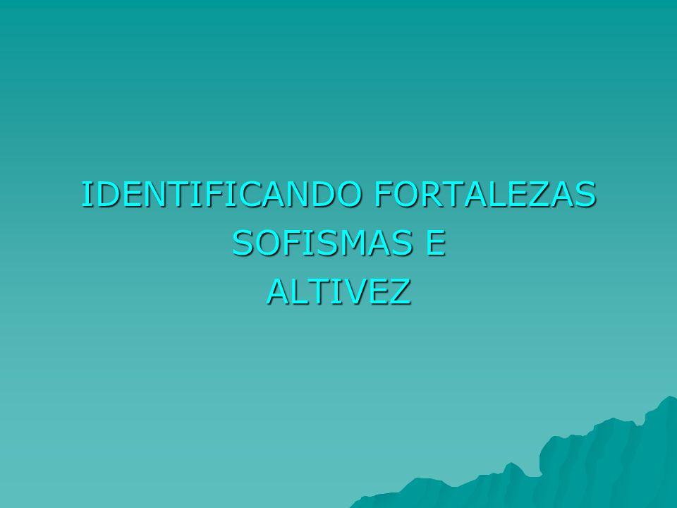 IDENTIFICANDO FORTALEZAS