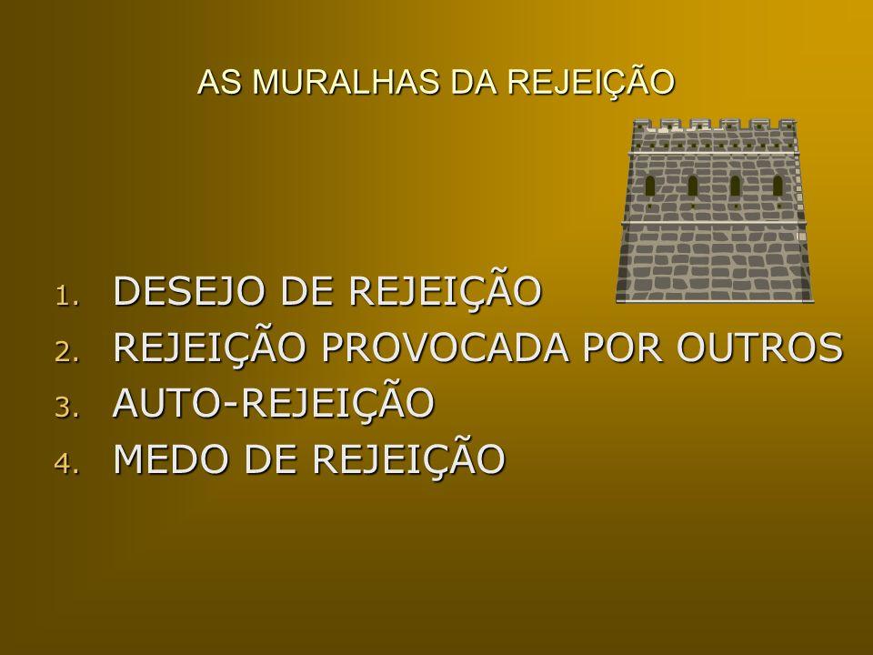 AS MURALHAS DA REJEIÇÃO