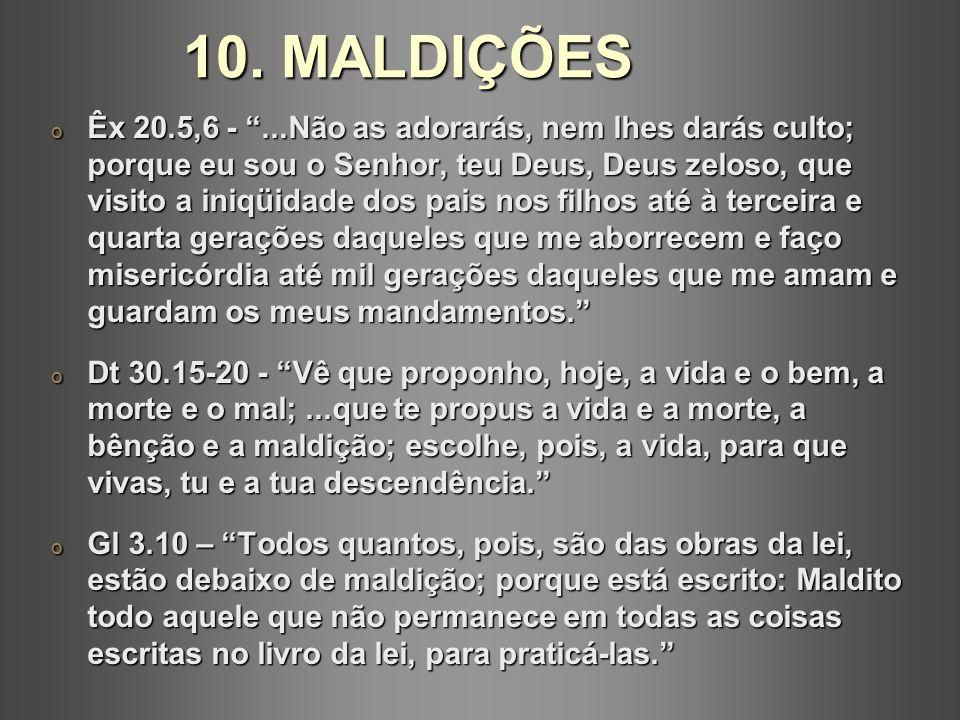 10. MALDIÇÕES