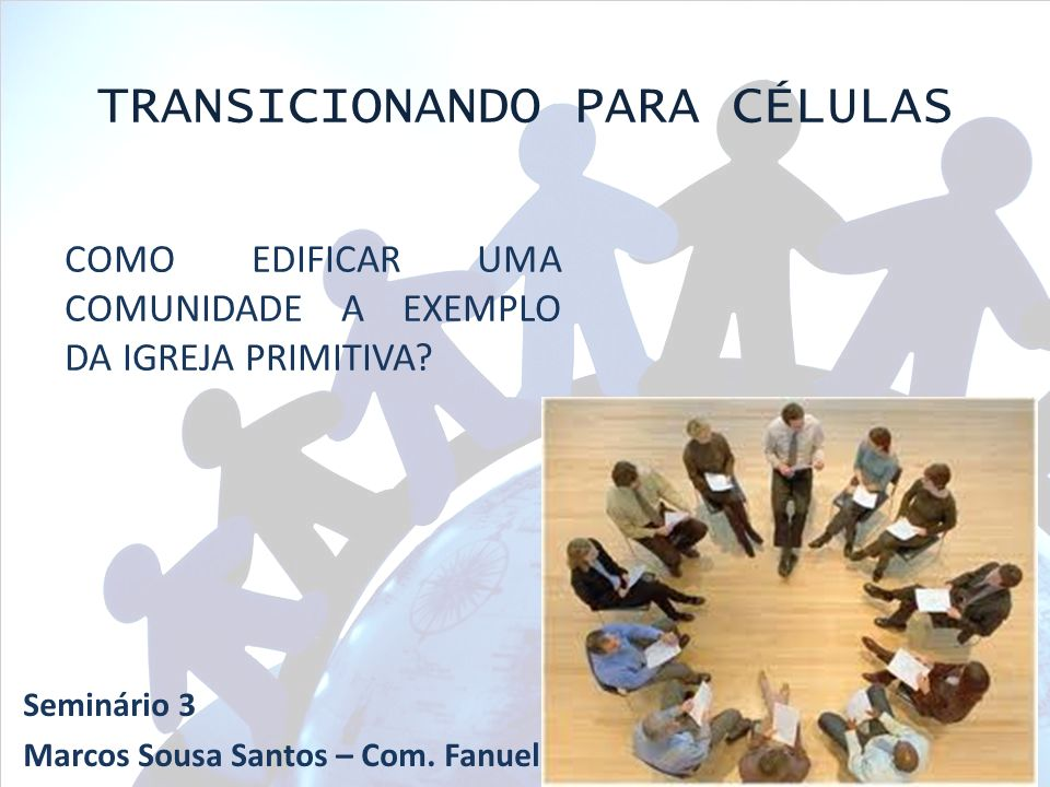 TRANSICIONANDO PARA CÉLULAS