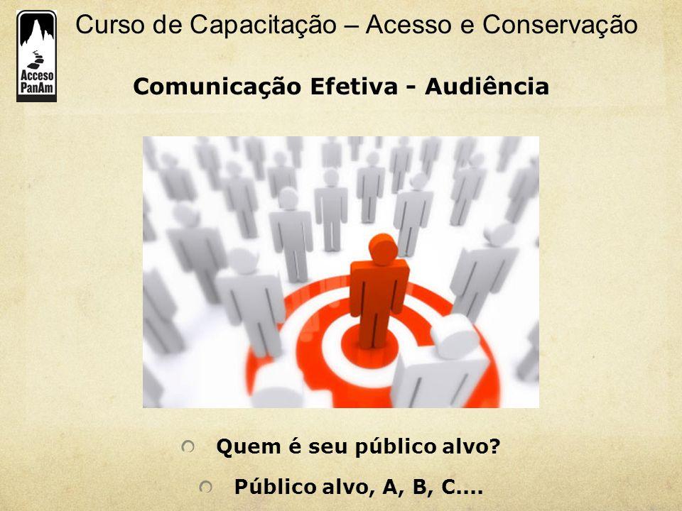 Comunicação Efetiva - Audiência