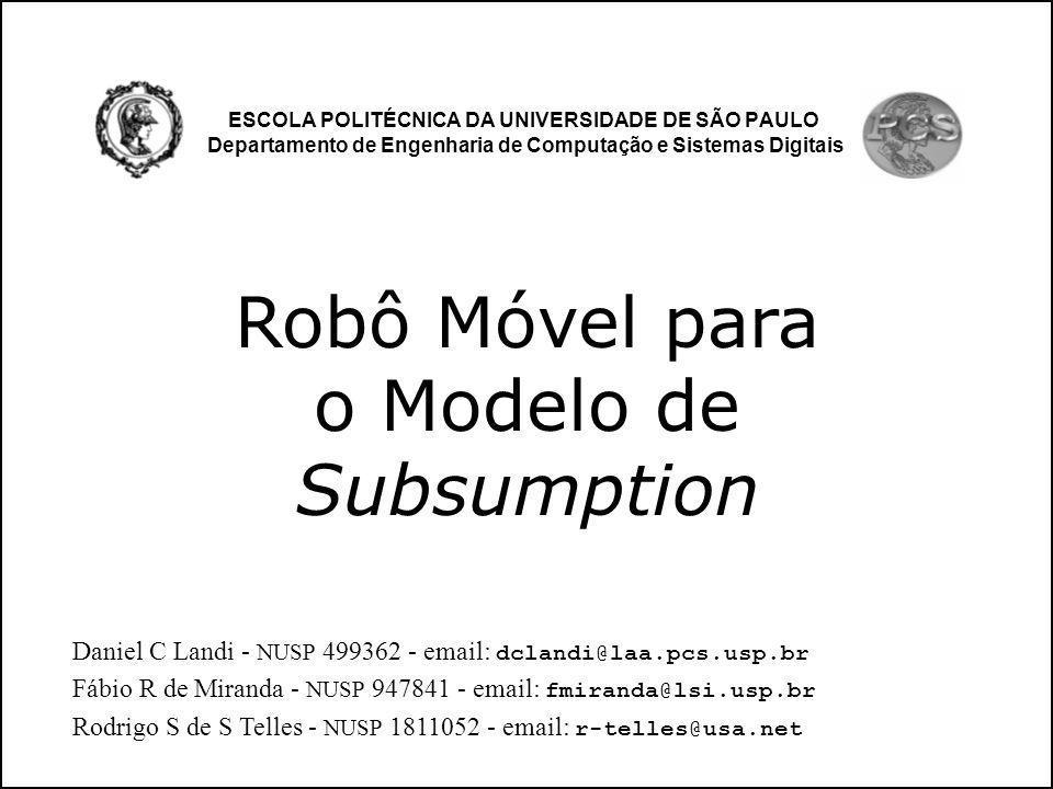 Robô Móvel para o Modelo de Subsumption