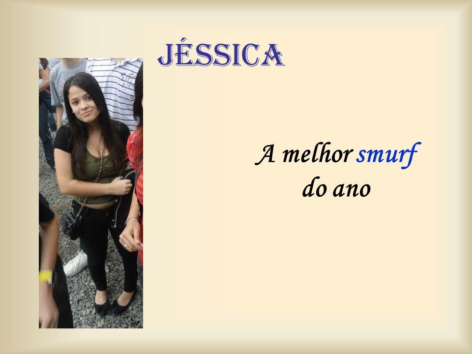 Jéssica A melhor smurf do ano