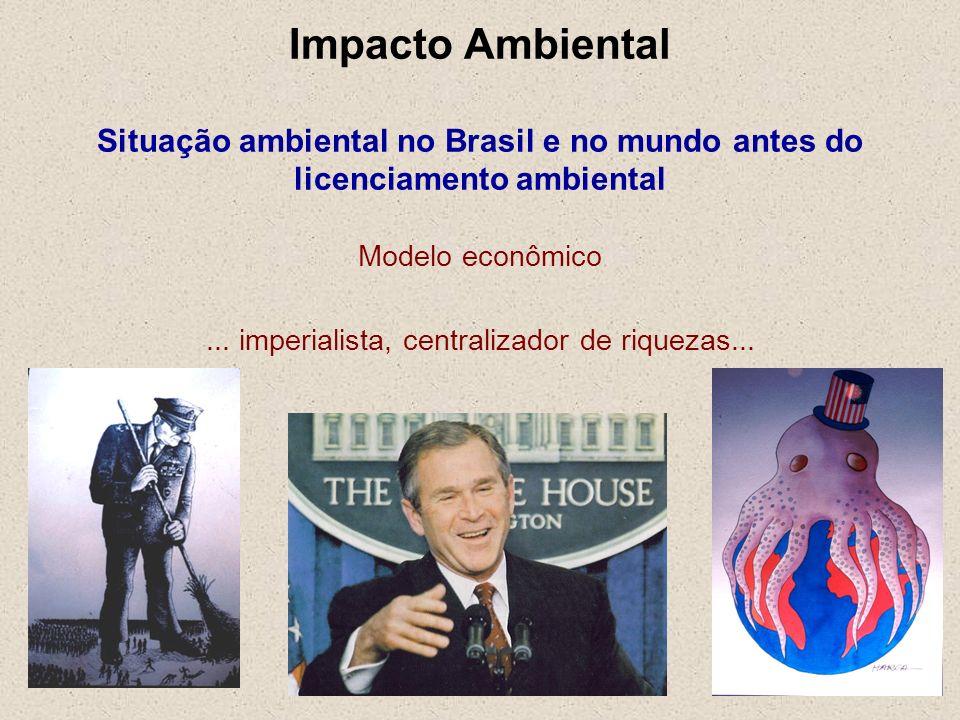 ... imperialista, centralizador de riquezas...