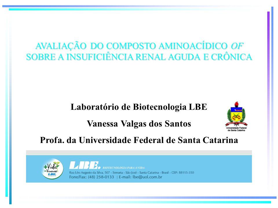 Laboratório de Biotecnologia LBE Vanessa Valgas dos Santos