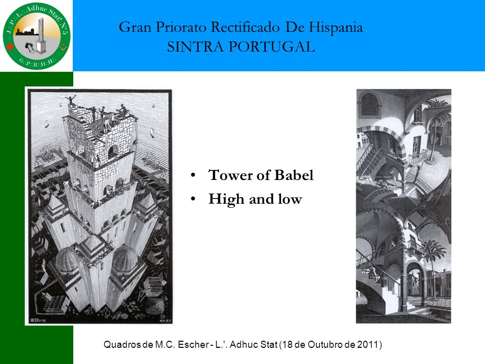 Gran Priorato Rectificado De Hispania SINTRA PORTUGAL