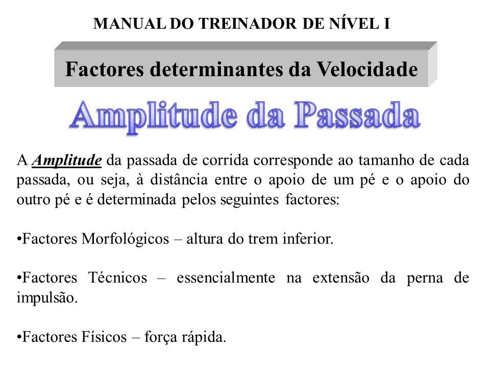 Factores determinantes da Velocidade