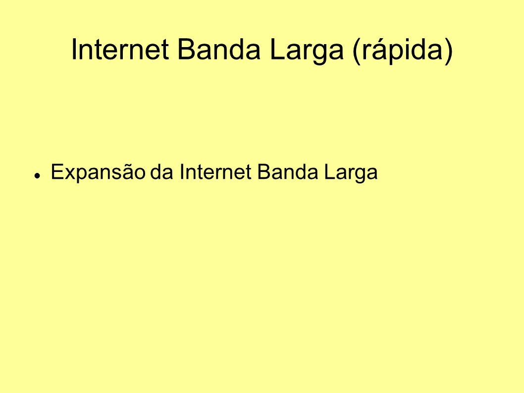 Internet Banda Larga (rápida)