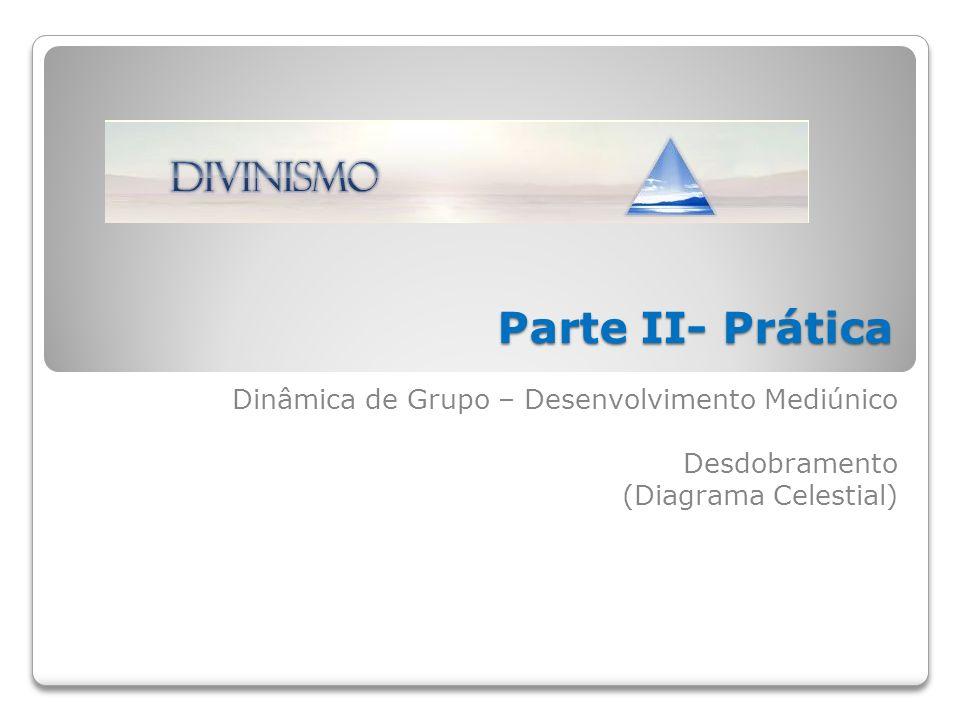Parte II- Prática Dinâmica de Grupo – Desenvolvimento Mediúnico