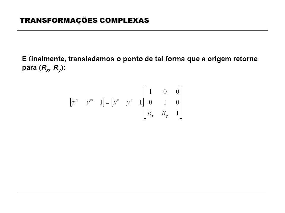 TRANSFORMAÇÕES COMPLEXAS
