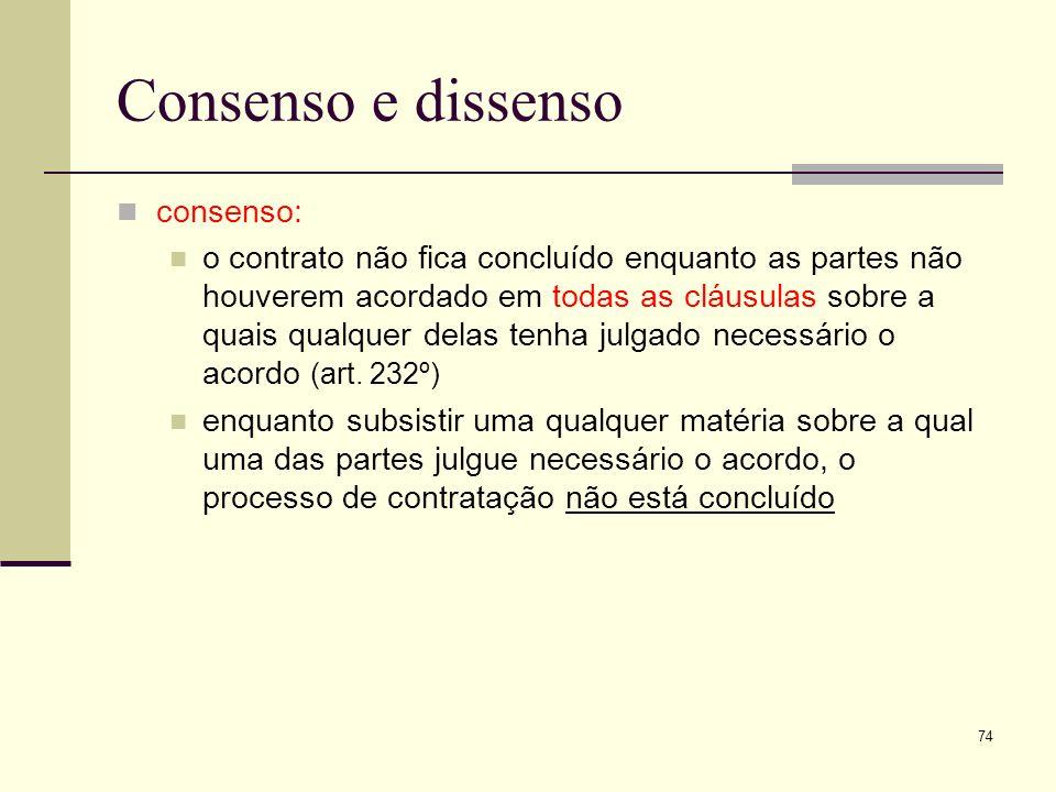 Consenso e dissenso consenso: