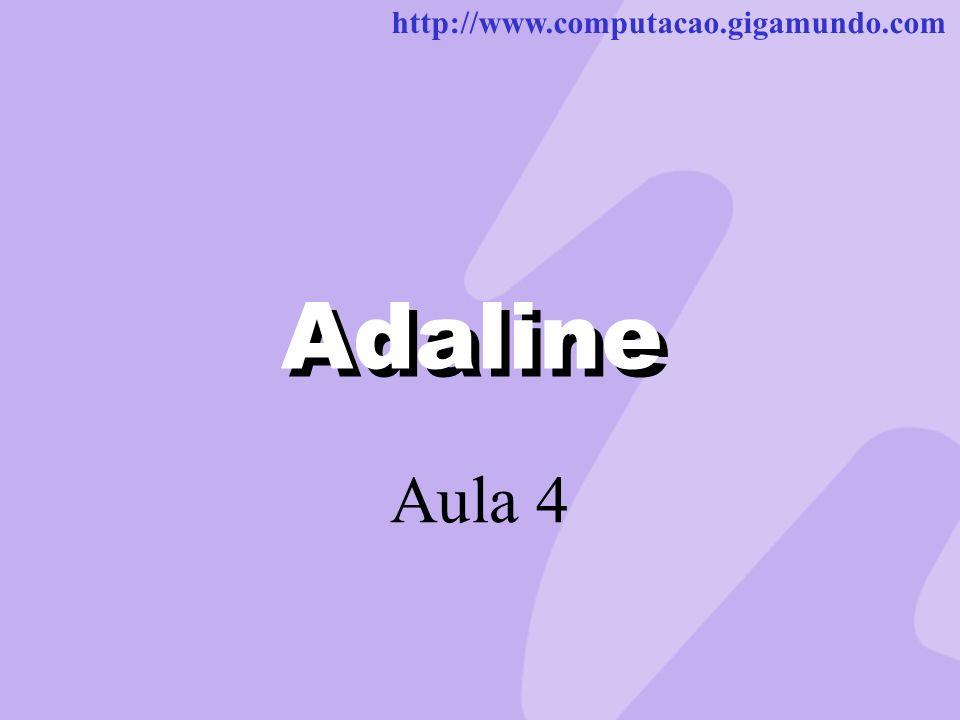 Adaline Adaline Aula 4