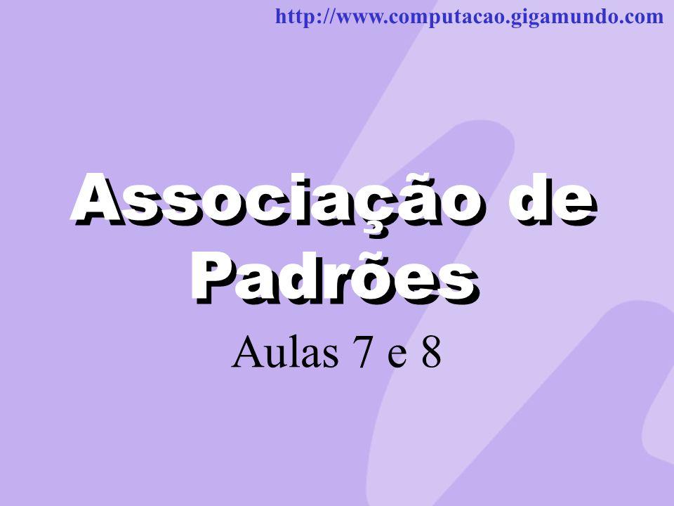Associação de Padrões Associação de Padrões